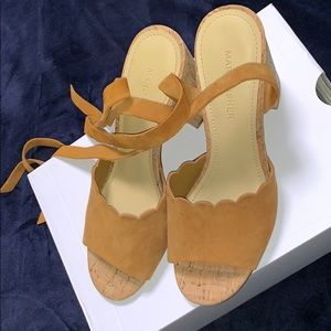 Marc Fisher Sandal lace up